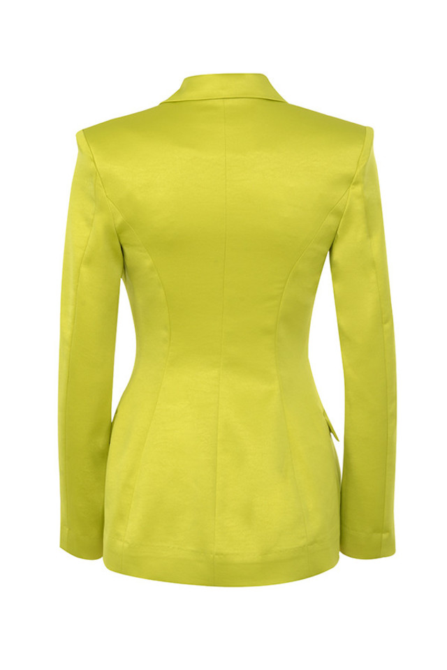fionella jacket in lime