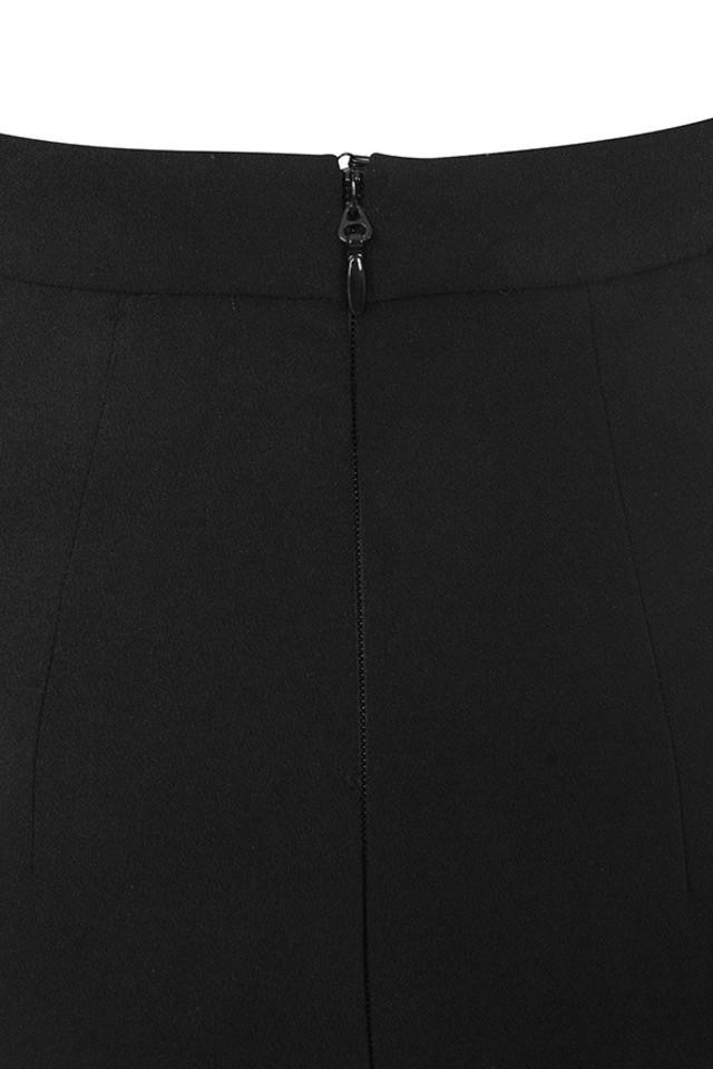 black lavande skirt
