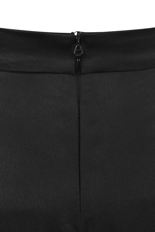 black meisha trousers