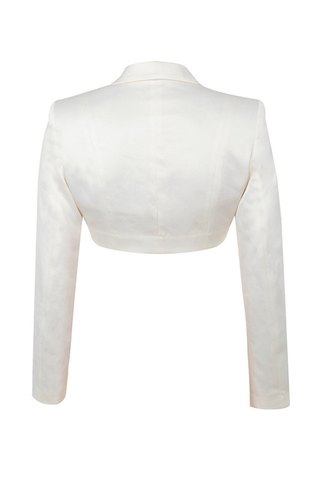miguelina jacket in ivory