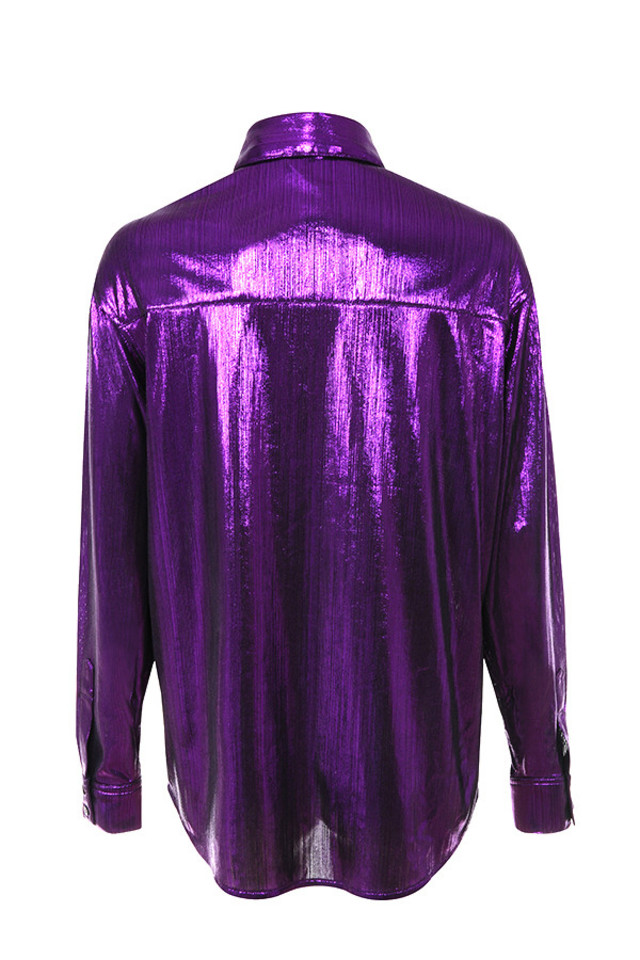 odelia top in purple