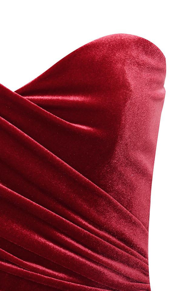 rehana maxi in red