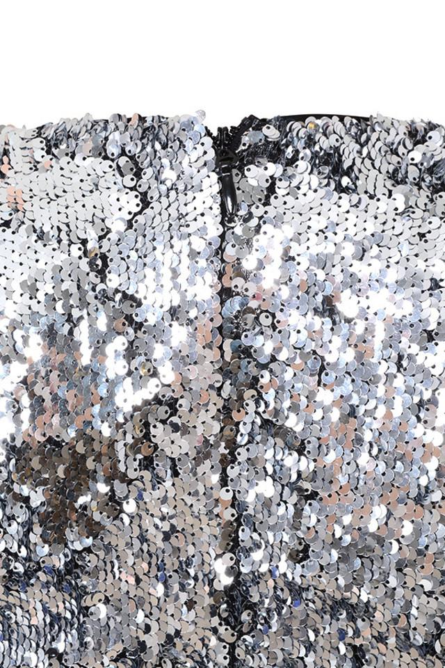 robina silver dress
