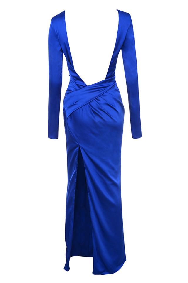 salome maxi in blue