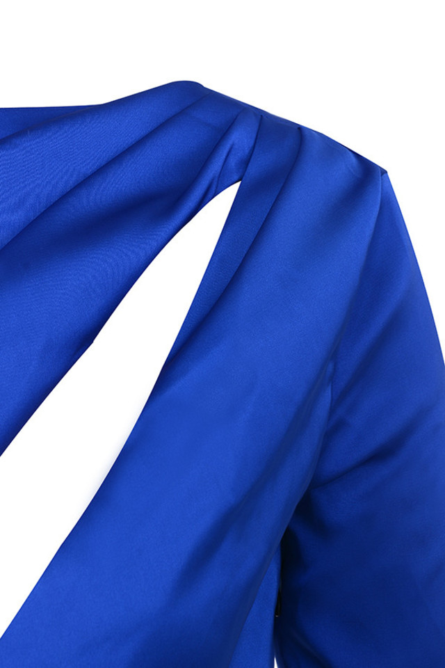 salome dress in blue