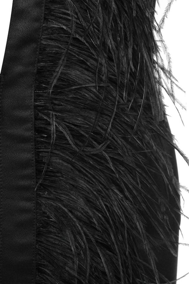 black tara dress