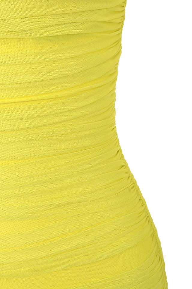 yellow valentina dress