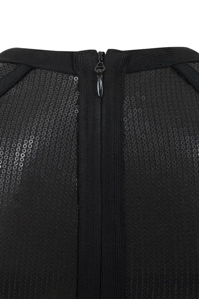 viktoria black dress