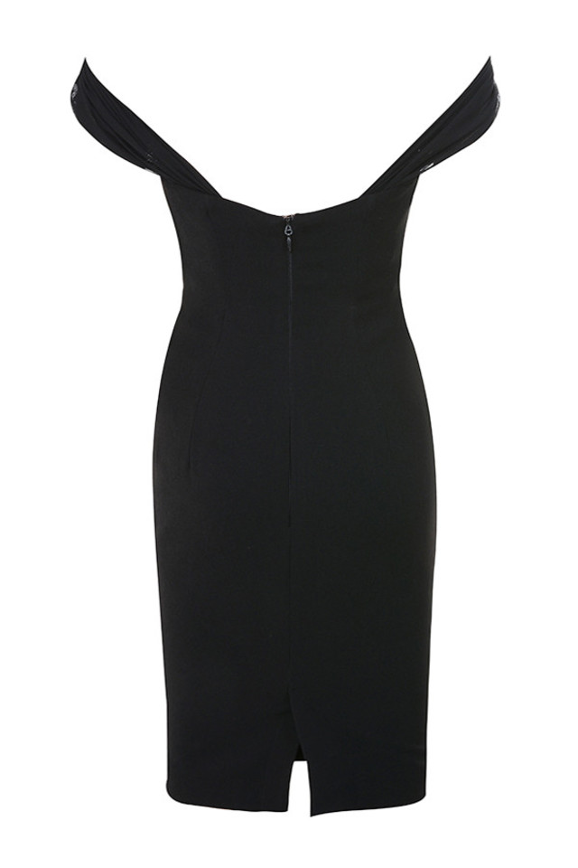 yolanda dress in black