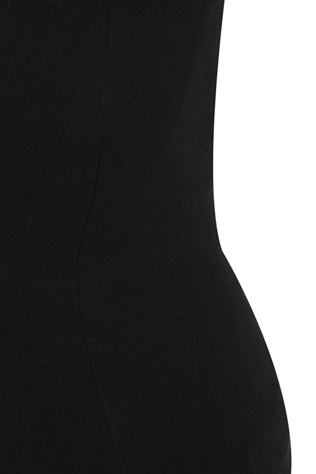 black yolanda dress