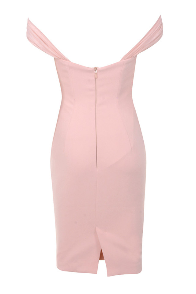 yolanda dress in pink