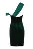 eleanora dress in evergreen