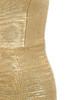 gold fabrizia dress