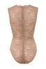 valeri bodysuit in brown