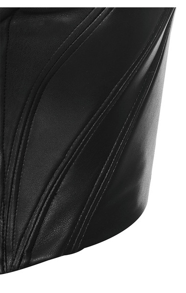 black abigail top