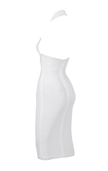 courtney in white