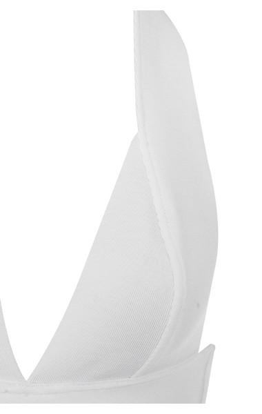 courtney dress in white
