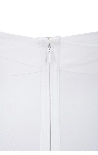 white courtney dress