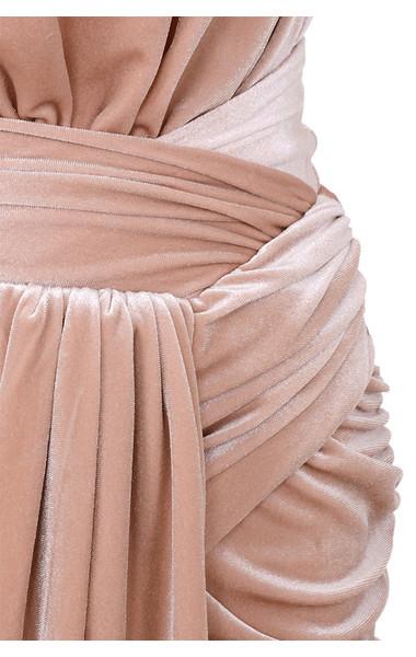 blush farrah dress