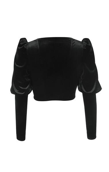 karla top in black