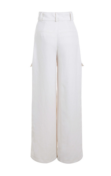 lucille trousers in white