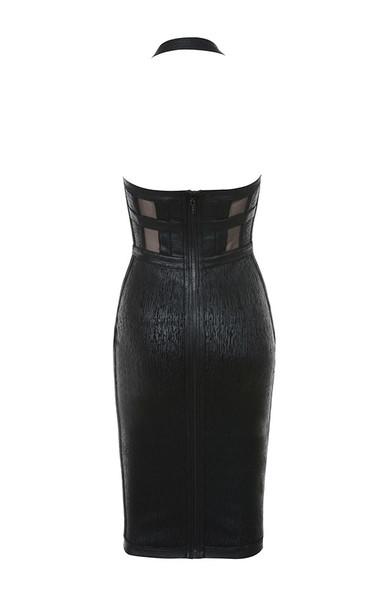 mariella dress in black