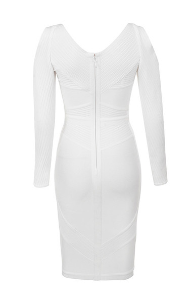 raffaella dress in white