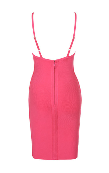 savannah dress in fuchsia