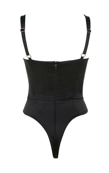 vivi bodysuit in black