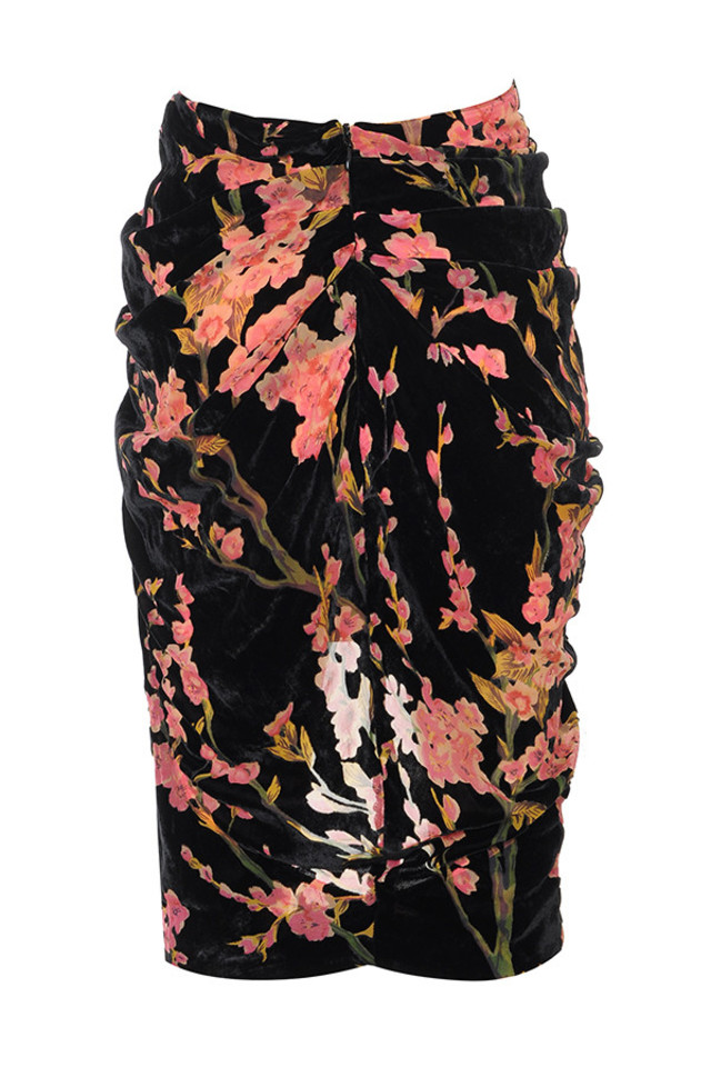 augustina skirt in floral