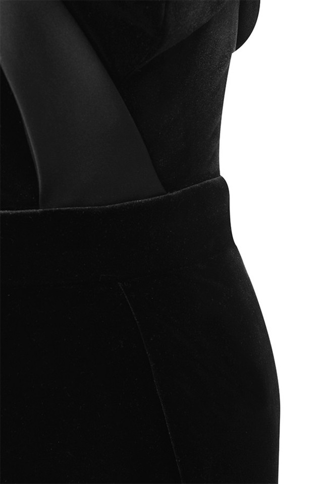 black ayla dress