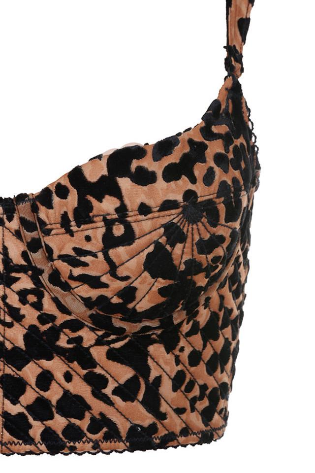 leopard chloe bra