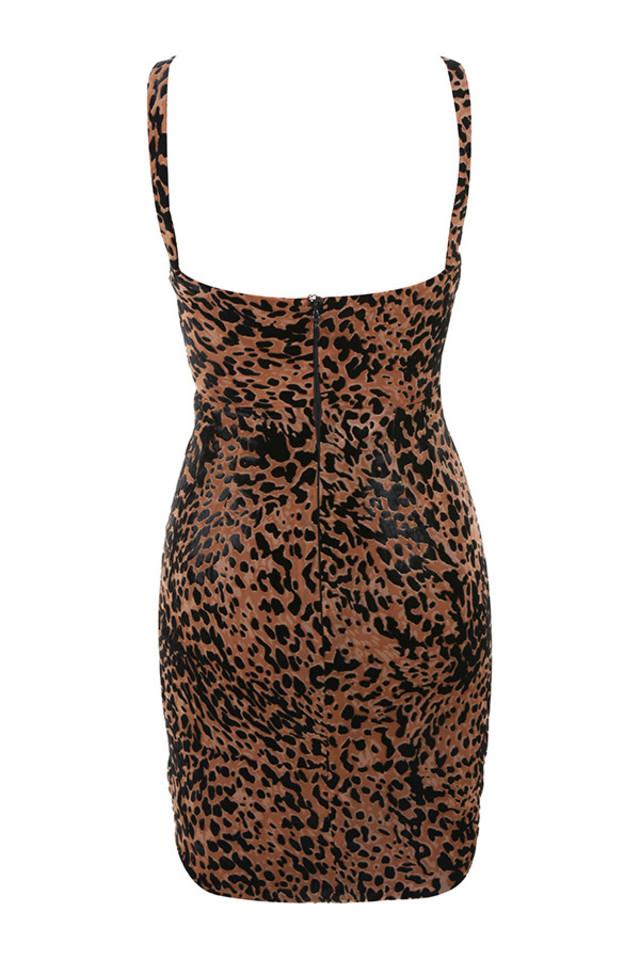 cleo dress in prints