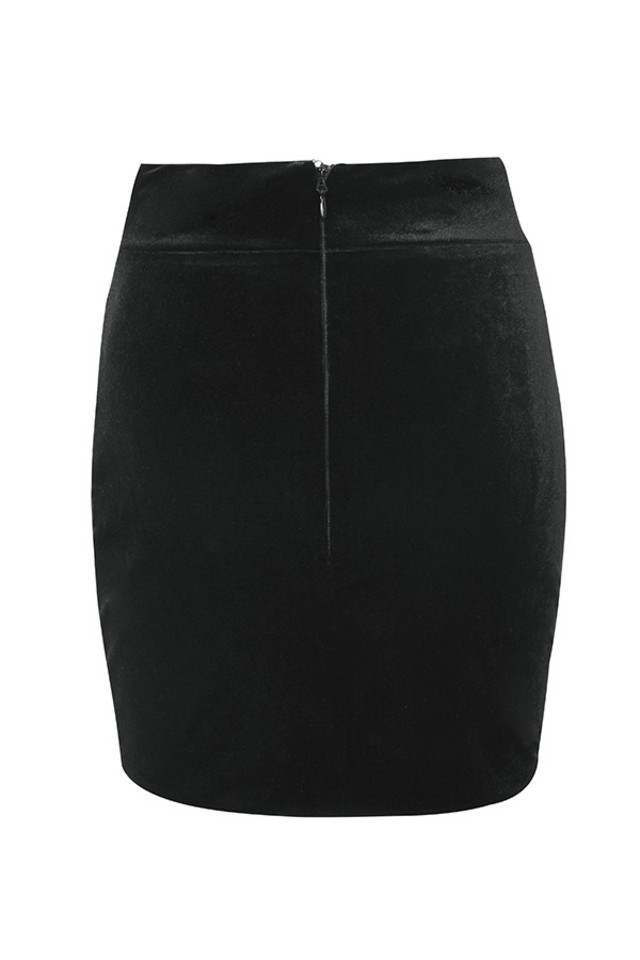 edwina skirt in black