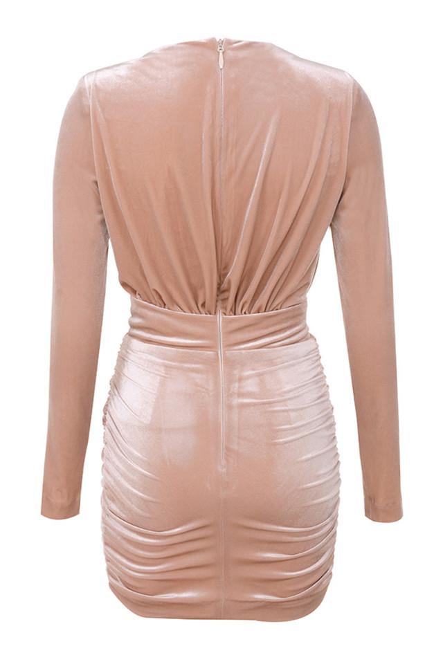 farrah dress in blush