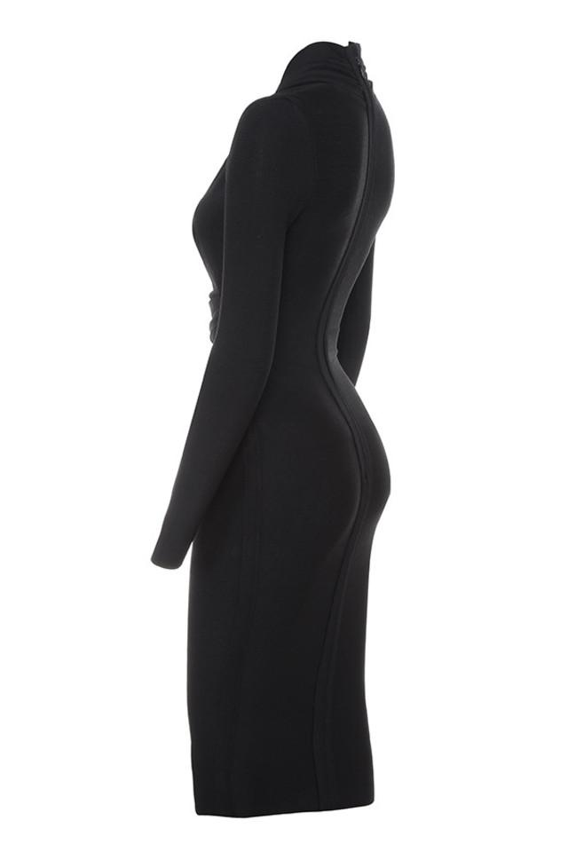 francesca in black