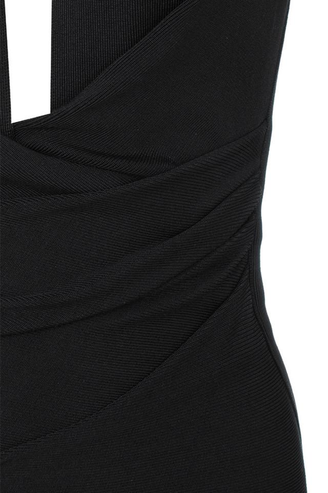 black francesca dress
