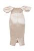rhoda dress in champagne