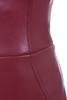 burgundy saskia dress