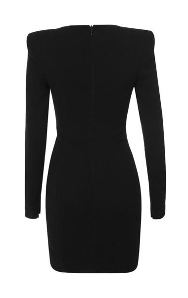 briana dress in black