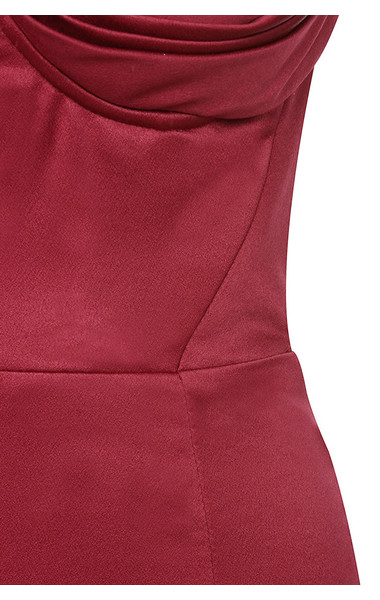 wine charlotte dress