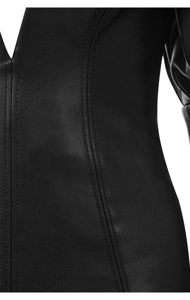 black clarita dress