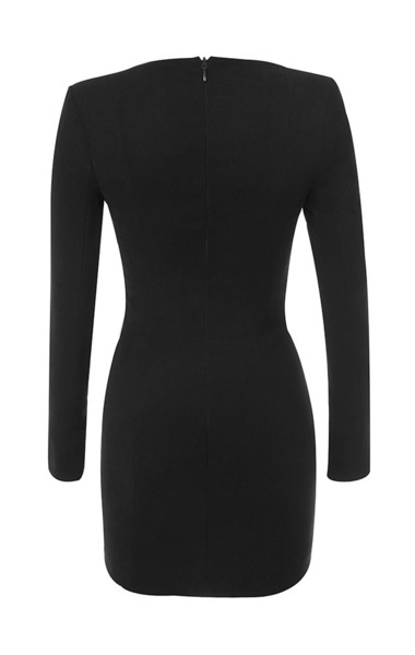 lala dress in black