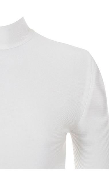 leandra bodysuit in white