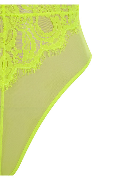 neon yellow nadia top