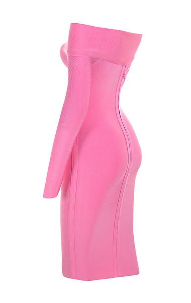 nadine in pink