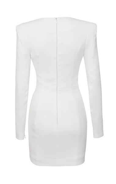 olinda dress in white