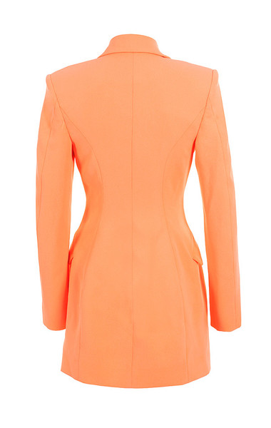 raven jacket in orange