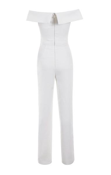 rissa jumpsuit in white