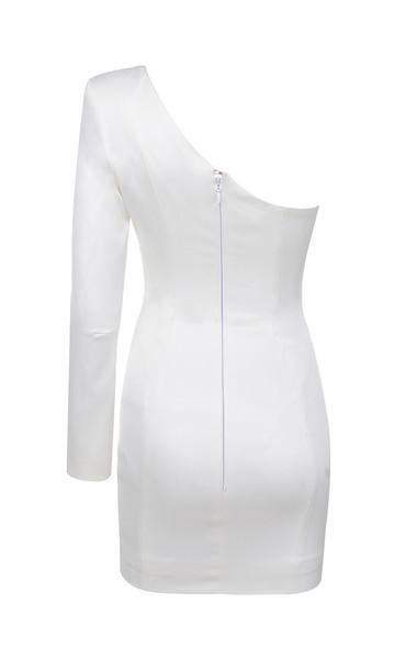 tiffany dress in white